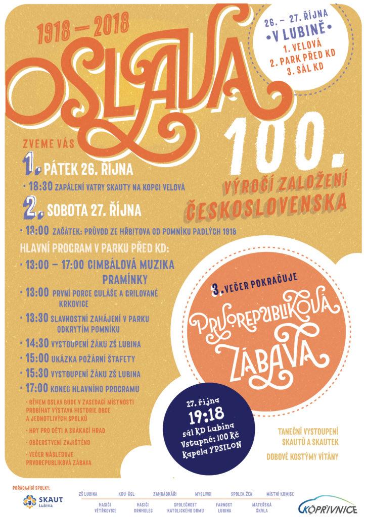 Oslavy 100 let ČSR